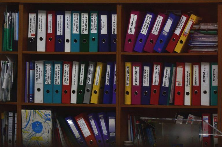 organized documents