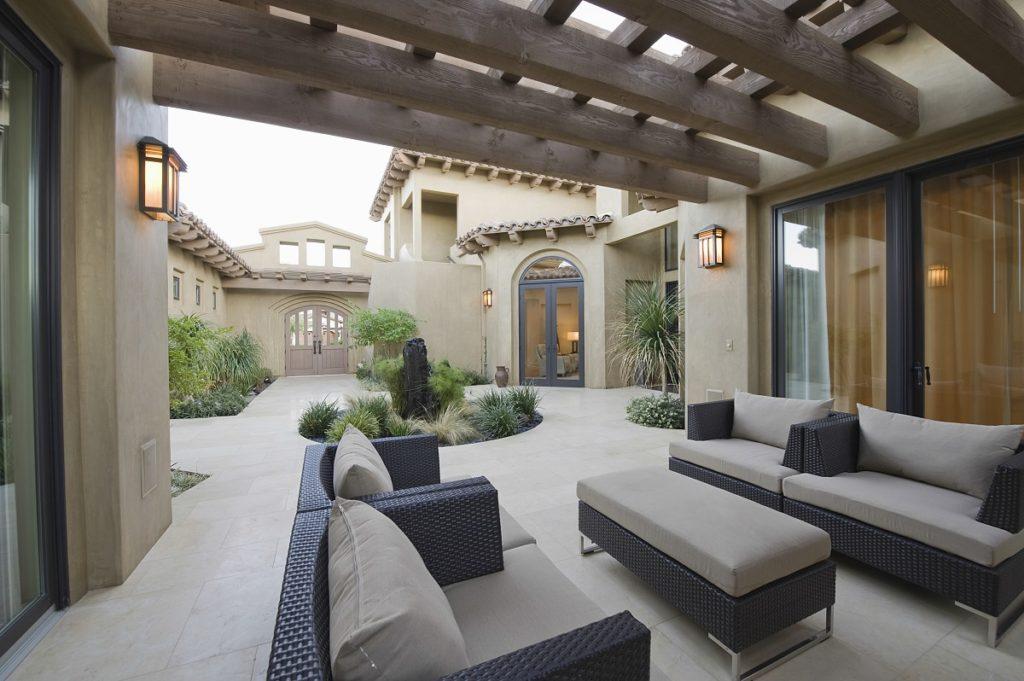 luxury patio