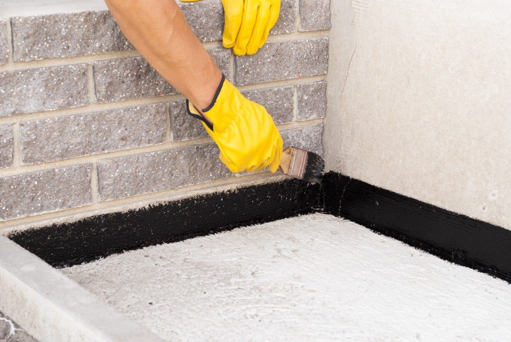 waterproofing the house