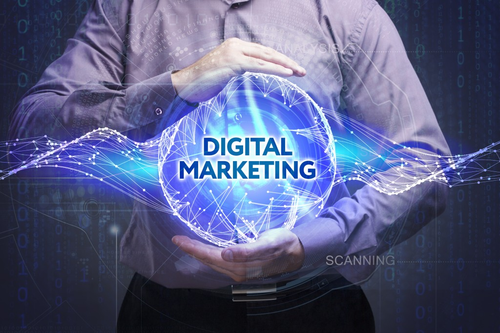 digital marketing text