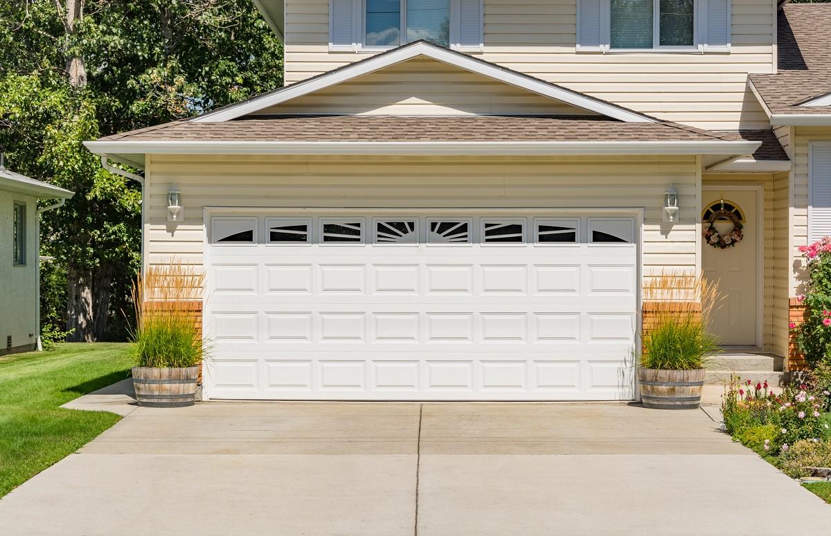 home's driveway
