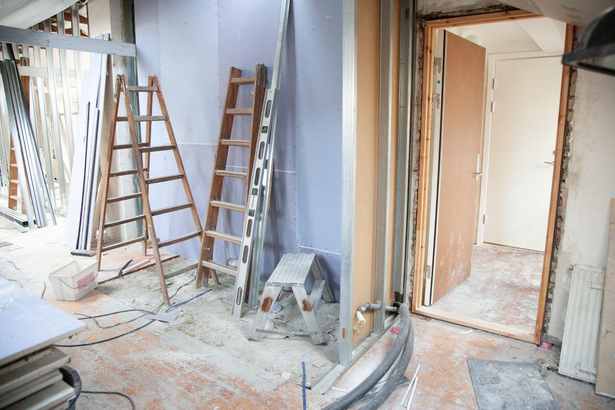 home interior under renovation