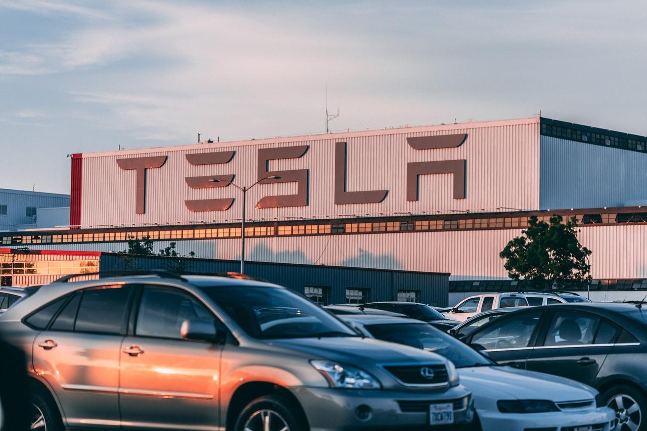 tesla plant manufacturing automotive electric vehicle factory