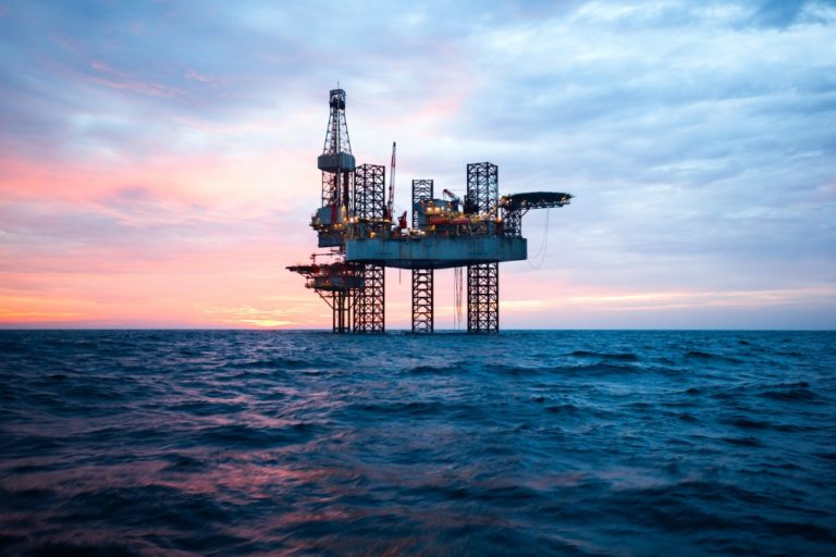 oil drilling plant