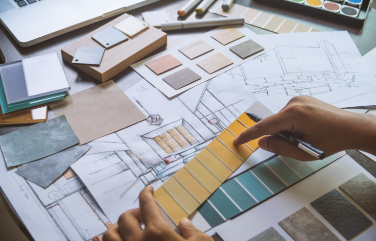 curating a design for the house