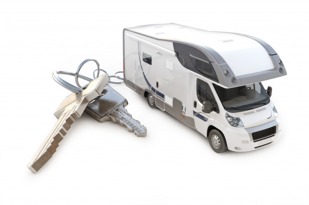 rv toy and keys