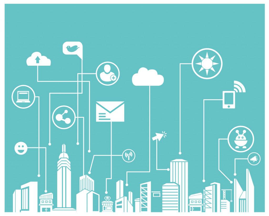 illustration of technology depicted