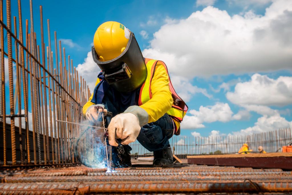 worksite construction